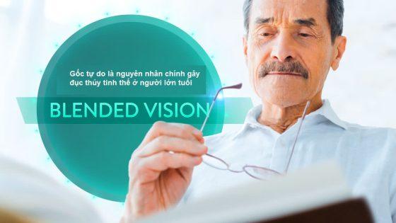 Nguyên nhân bị đục thủy tinh thể là do các gốc tự do gây tổn hại đến mắt