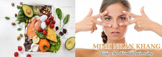 Dinh dưỡng khoa học là cách trị khô mắt tại nhà đơn giản
