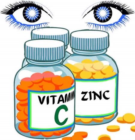 Kẽm, Vitamin C – Vitamin tốt cho mắt